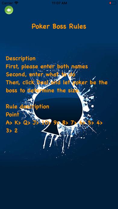 Poker Boss - Resolve disputes screenshot #3
