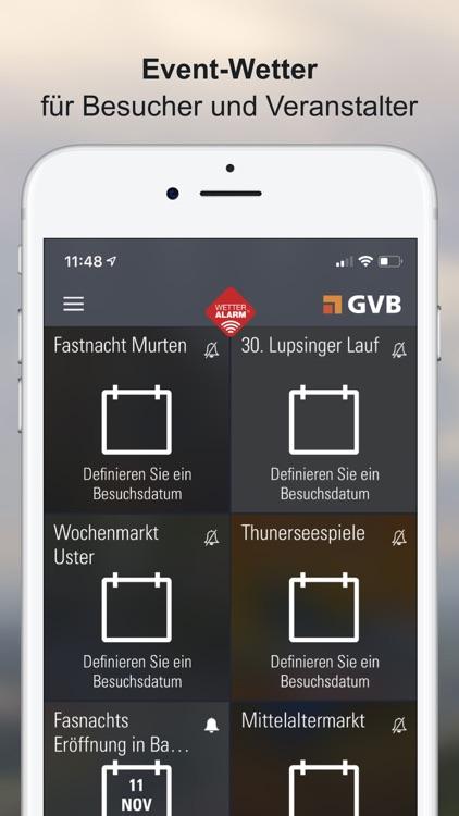 Wettervorhersagen Schweiz screenshot-6