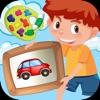 知育塗り絵本ゲーム - 色ぬりページ付きの本 - iPhoneアプリ