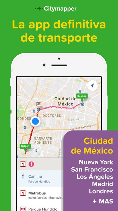 Screenshot for Citymapper - CDMX in Venezuela App Store