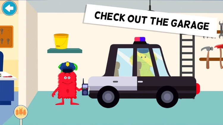 My Monster Town - Police Games screenshot-5