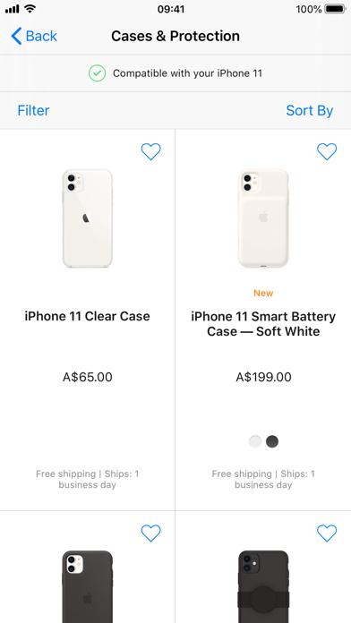 Apple Store screenshot three