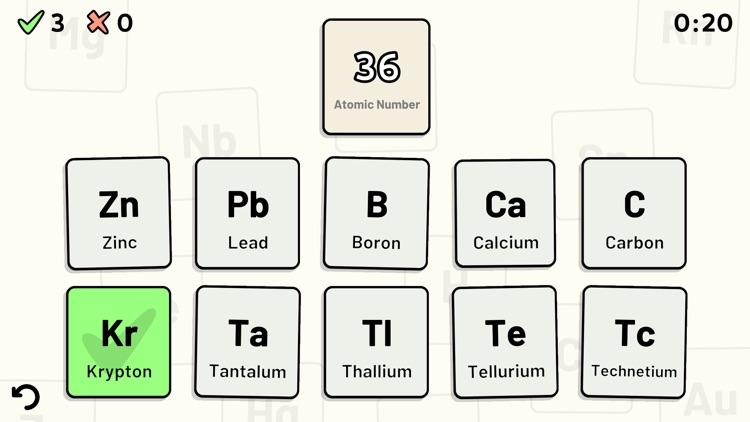 Periodic Table Quiz screenshot-4