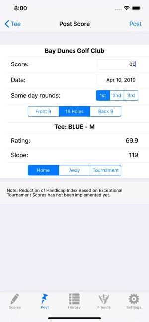 Golf Handicap Tracker & Scores on the App Store