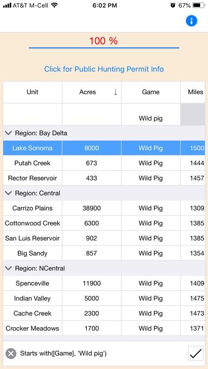 Public Hunting California screenshot-9