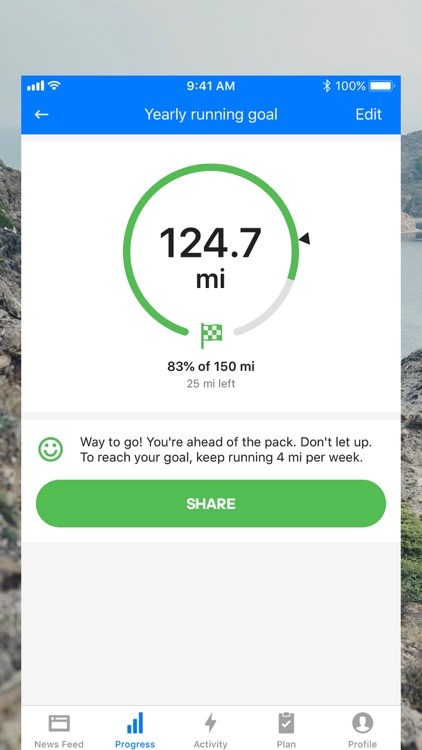 Runtastic Running Tracker PRO screenshot-3