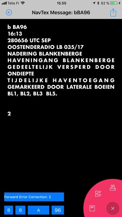 Nasa NavTex BT LE screenshot-6