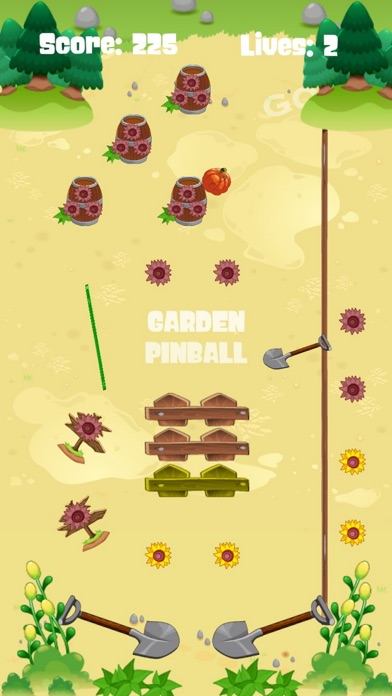 GARDEN PINBALL screenshot #2