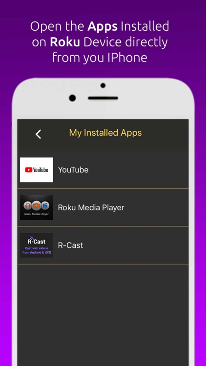 Remote For Roku TV/Devices screenshot-3