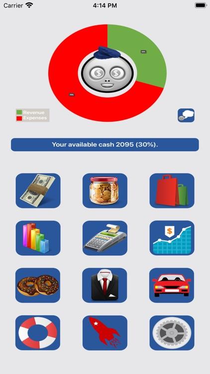 Budget Flow 2-Expenses, Income screenshot-0