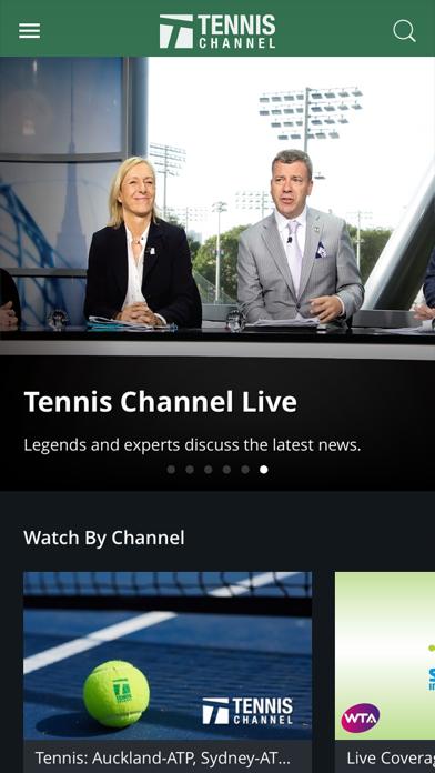 Tennis Channel Screenshot