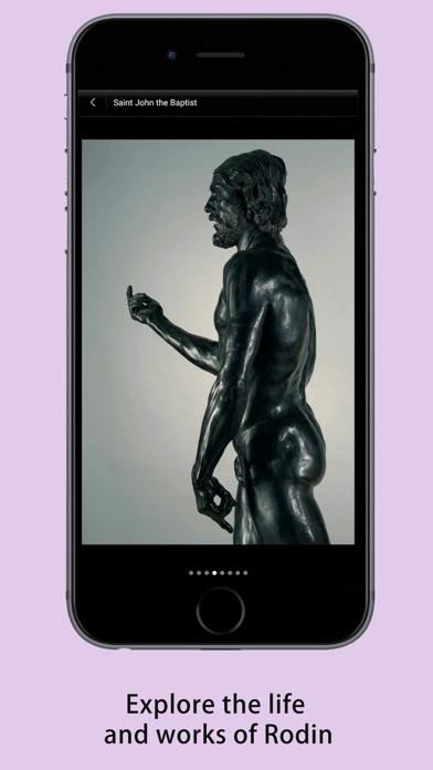 Rodin Museum Guide screenshot three