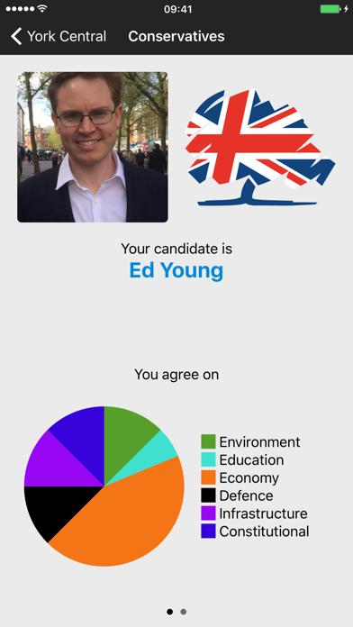 General Election 2019 screenshot three