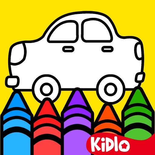 Kidlo Coloring Book for Kids iOS App