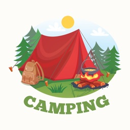 Hiking Camping Stickers