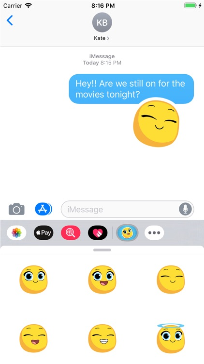 Michi Moji- Fun Emoji Stickers