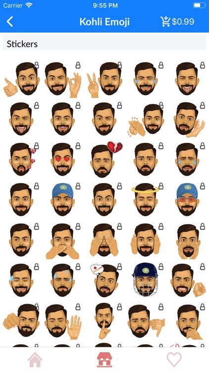 IPL Cricket Emoji Stickers