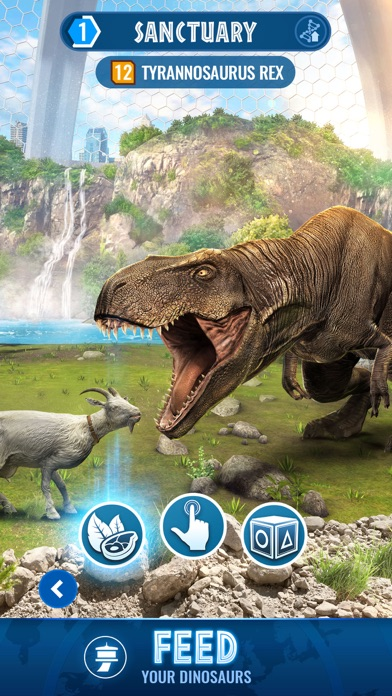 Jurassic World Alive by Ludia (iOS, United States
