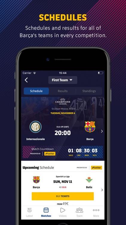 FC Barcelona Official App screenshot-7