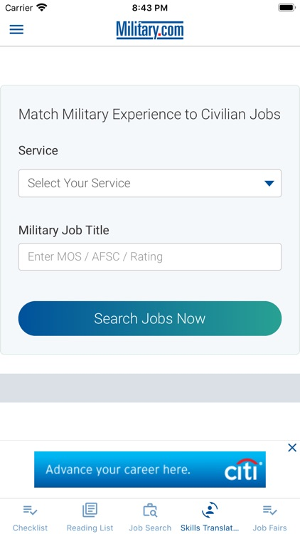 Transition by Military.com screenshot-5