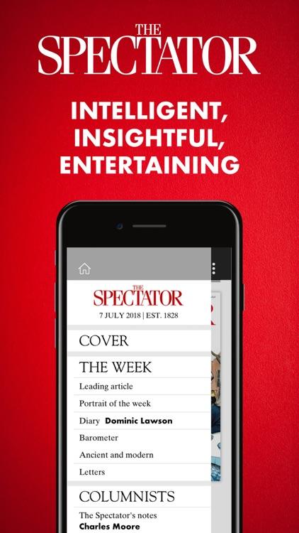 The Spectator Magazine