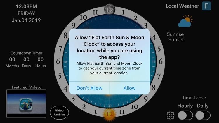 Flat Earth Sun, Moon & Zodiac screenshot-6