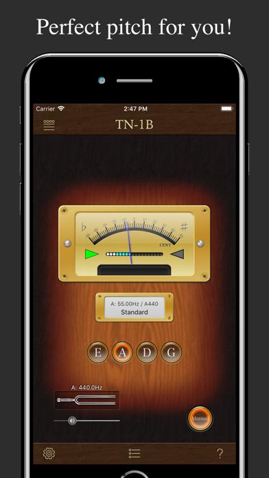 Bass Tuner TN-1B screenshot one