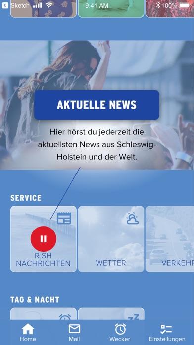 Herunterladen R.SH Radio Schleswig-Holstein für Pc