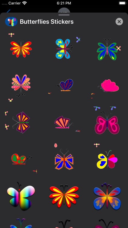 Butterflies Stickers screenshot-5