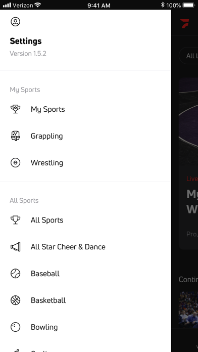 FloSports: Watch Live Sports Screenshot