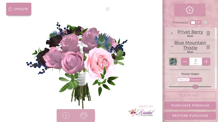 Bridal Bouquet Builder By Flowers Of