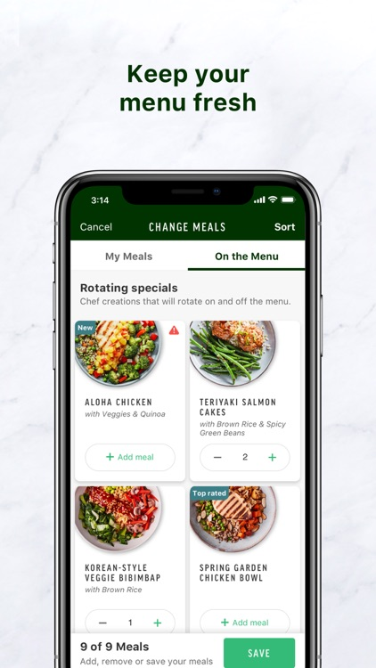 Freshly - Food Delivery screenshot-1
