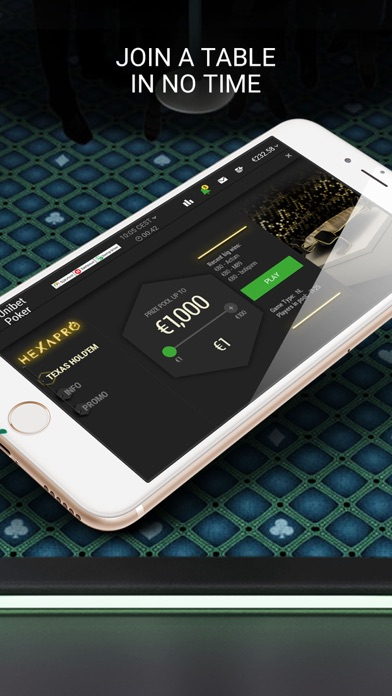 Unibet Poker screenshot three