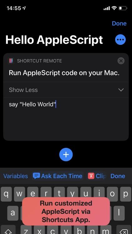 Shortcut Remote Control screenshot-6