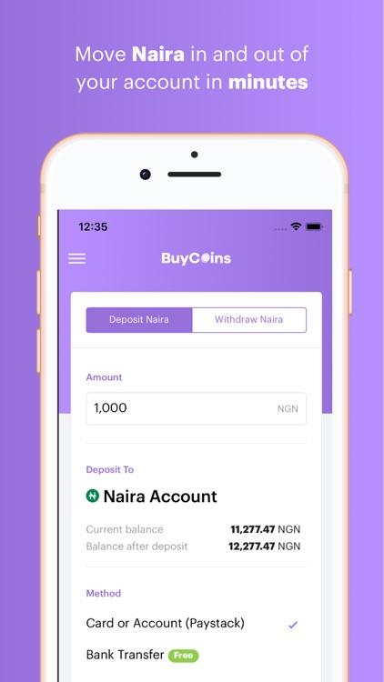 BuyCoins - Buy Bitcoin & More