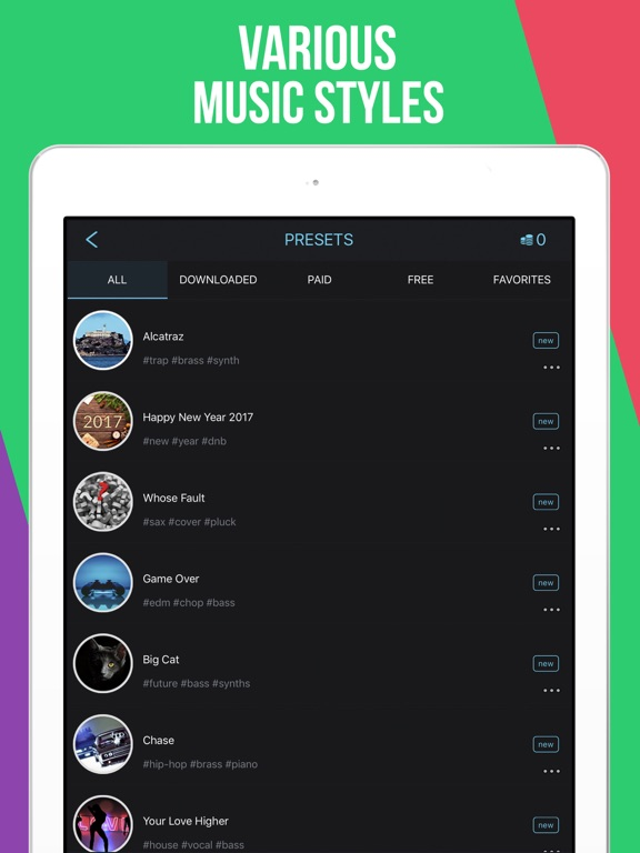 Drum Pads Guru - Make beats and music like a Pro screenshot