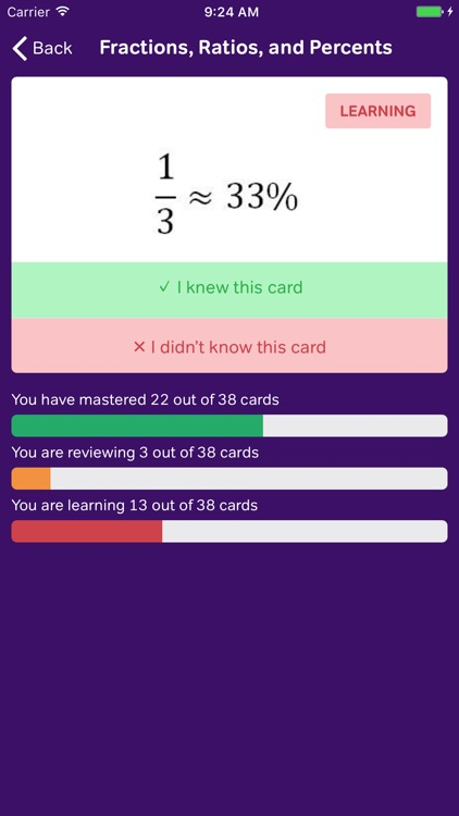 GMAT Math Flashcards