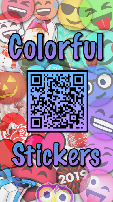 Colorful Stickers and Emoji screenshot 1