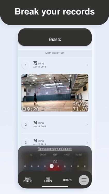 Tally Hoops - Basketball Stats screenshot-4