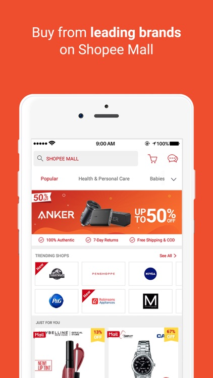 Shopee PH: 2.2 50% Off Sale screenshot-4