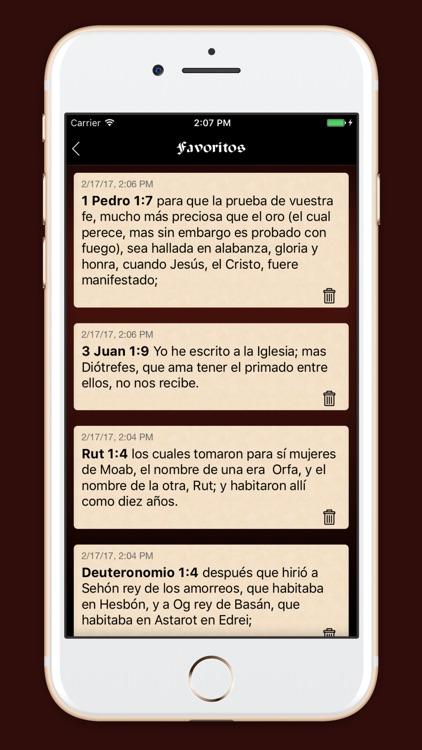 La Biblia Sagradas Escrituras screenshot-3