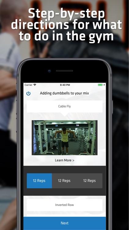 Gym Workouts For Men screenshot-4