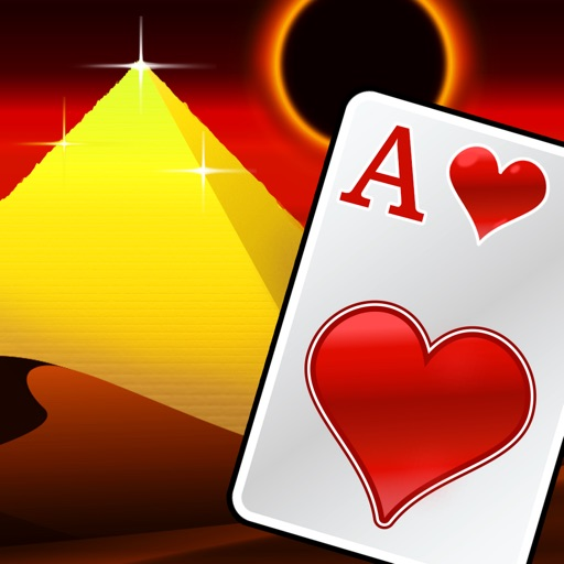 Pyramid Solitaire Royal Gold icon