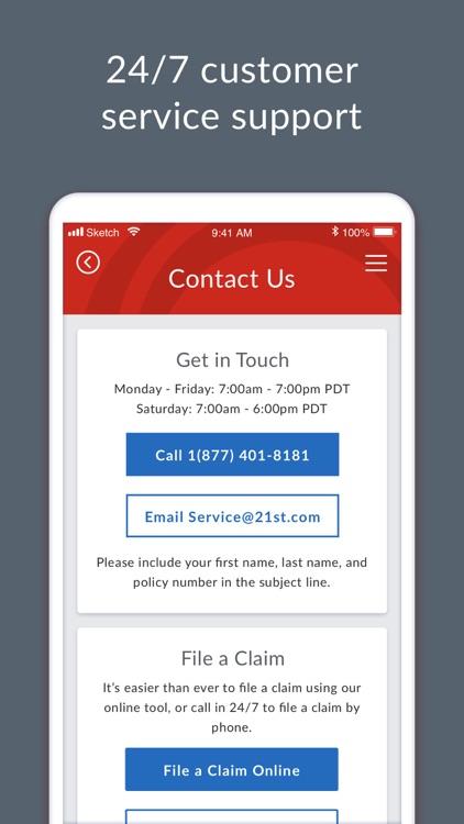 21st Century Insurance screenshot-5