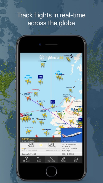 Flightradar24 | Flight Tracker screenshot-0