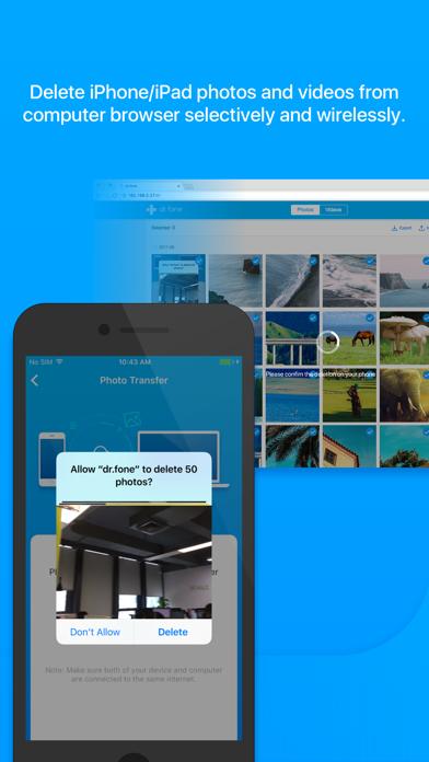 Screenshot for dr.fone - Photo Transfer in Austria App Store