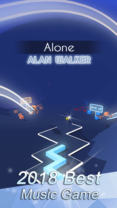 Screenshot from Dancing Line - Music Game
