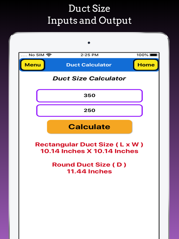 Duct Calculator Pro screenshot 13