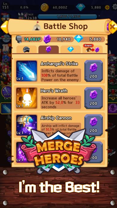 Merge Heroes Frontierのおすすめ画像7