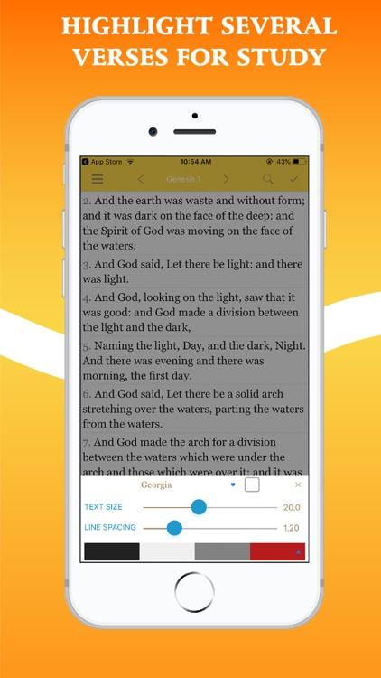 Bible In Basic English - BBE screenshot-6